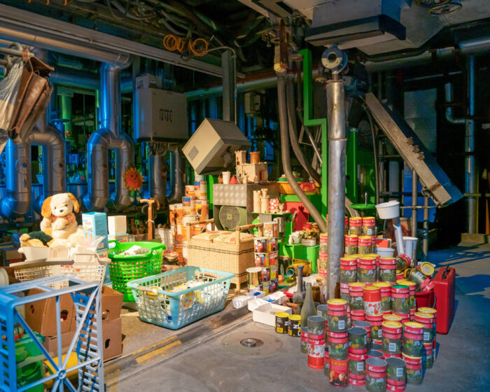 Gedächtnispalast: Ausstattung in der stillgelegten Fabrik